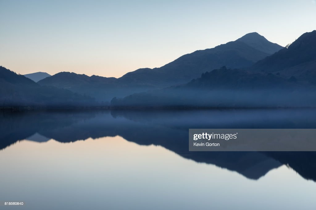 Snowdonia Reflections : Stock Photo