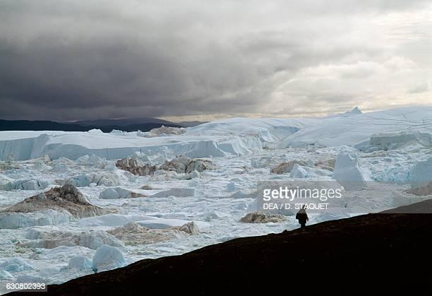 Snowfield Ilulissat Icefjord Ilulissat Greenland
