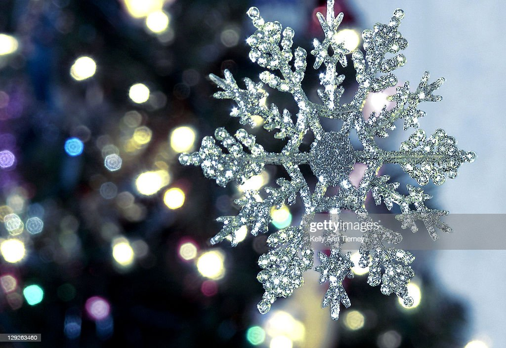 Snowflake for New Year : Stock Photo