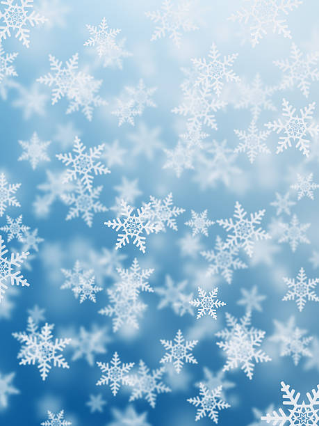 Snowflakes Background Wall Art