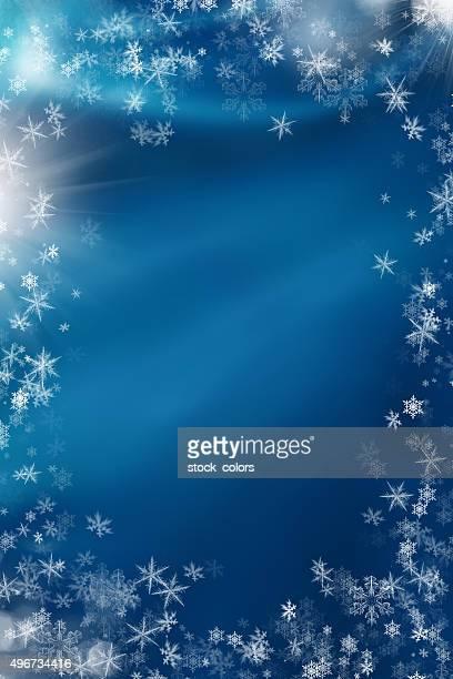 Flocons de neige pour Noël