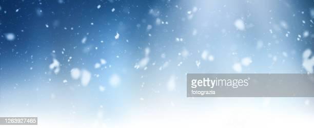 snowing - 雪が降る ストックフォトと画像