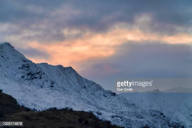 Snowline Along Crown Range