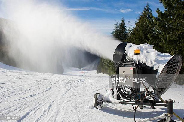 Fabrication de neige
