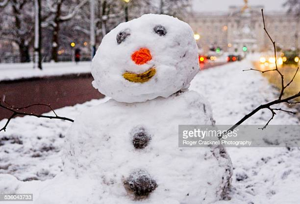 Snowman in The Mall London UK