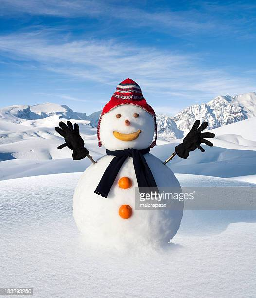 snowman - snowman stock pictures, royalty-free photos & images