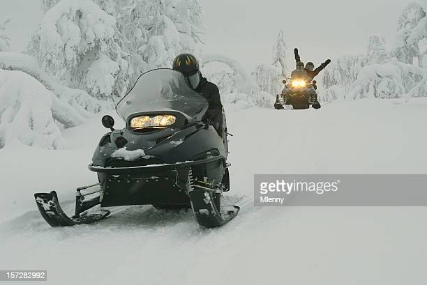 Snowmobile Expedition in Finland Lapland