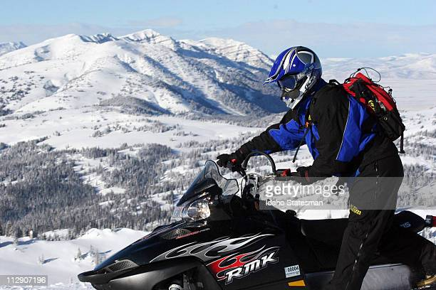 Snowmobiling is one of the best ways to access the high country during winter