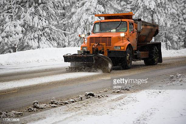 snowplow - snowplow stock pictures, royalty-free photos & images
