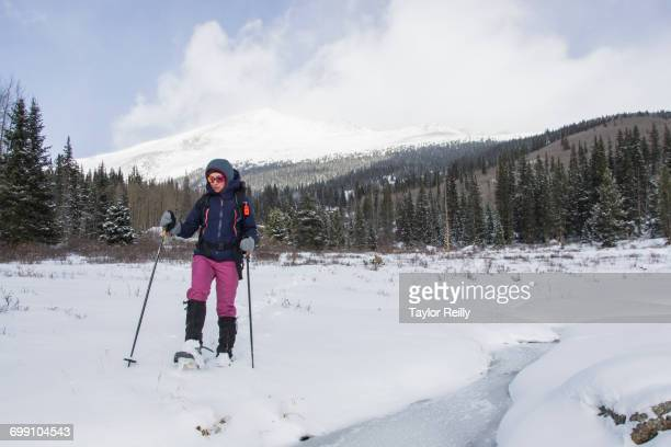 Snowshoeing in Mt. Evans Wilderness