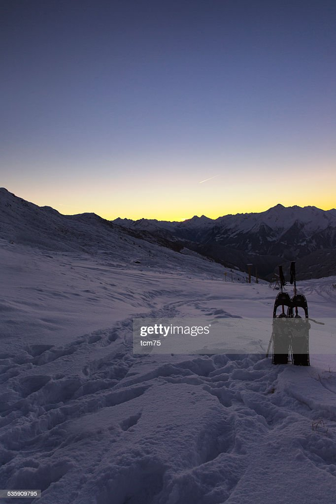 Snowshoes I : Stock Photo
