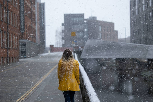 GBR: Snow In Manchester