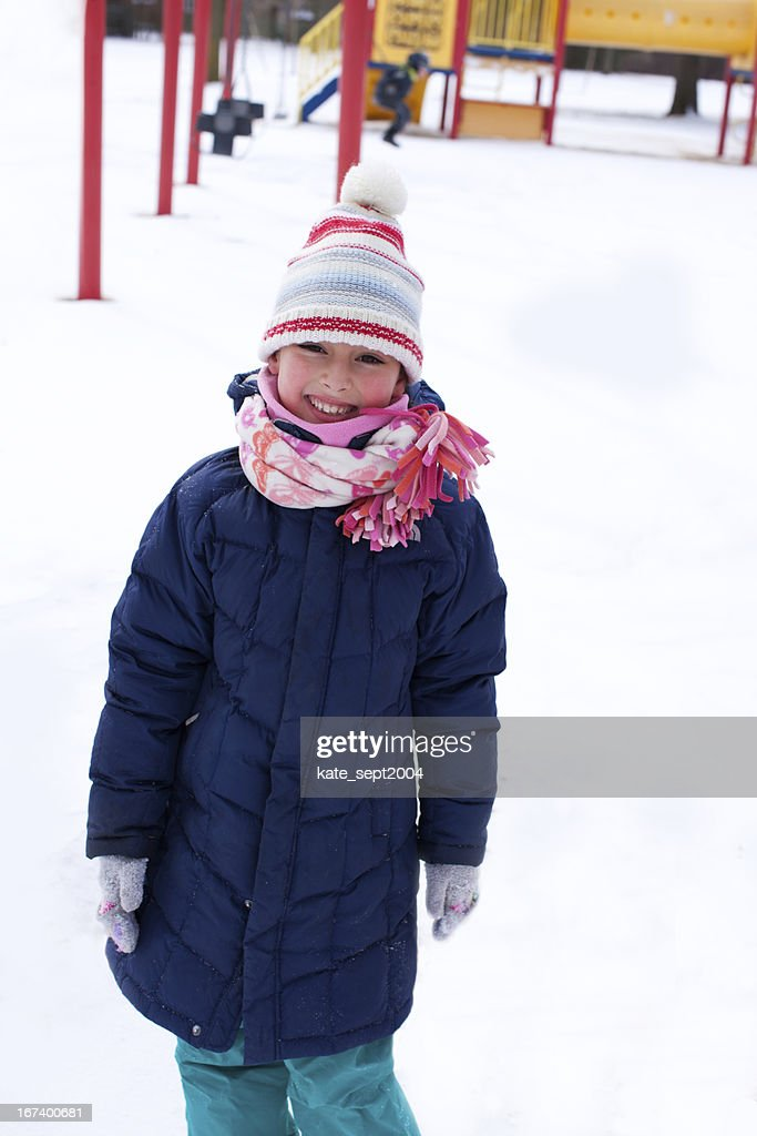 Snowy day : Stock Photo