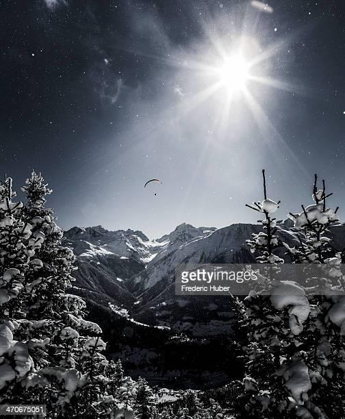Snowy dream in a winter wonderland of glistening snow. Location: Fiescheralp , Valais, Switzerland. --------------------------------------------...