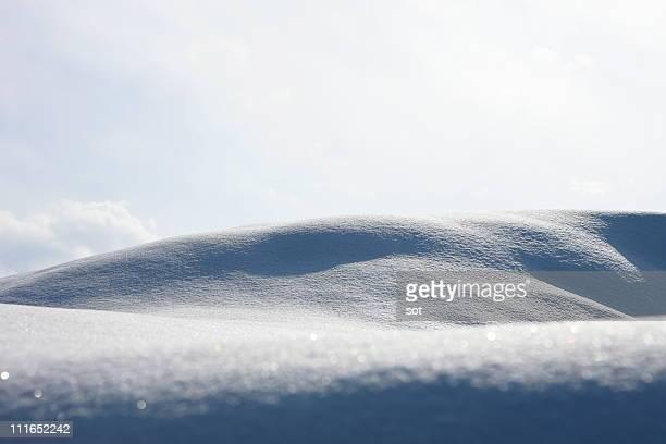 snowy field,close up - 新潟県 ストックフォトと画像