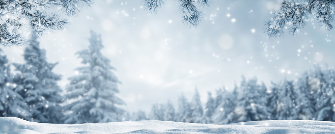 snowy idyllic winter landscape panorama 1175651818