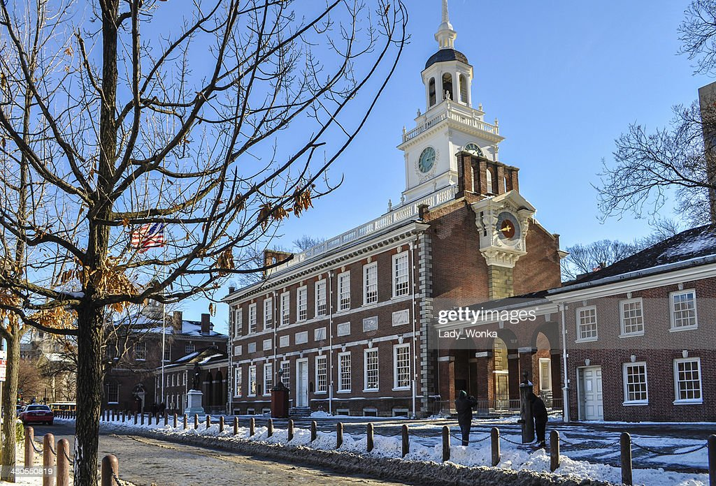 NevadasComment Independence Hall : Foto de stock