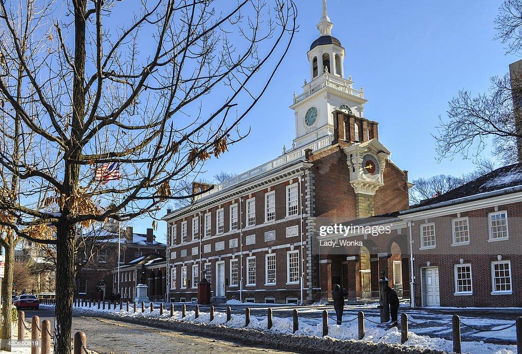 Nívea Independence Hall : Foto de stock
