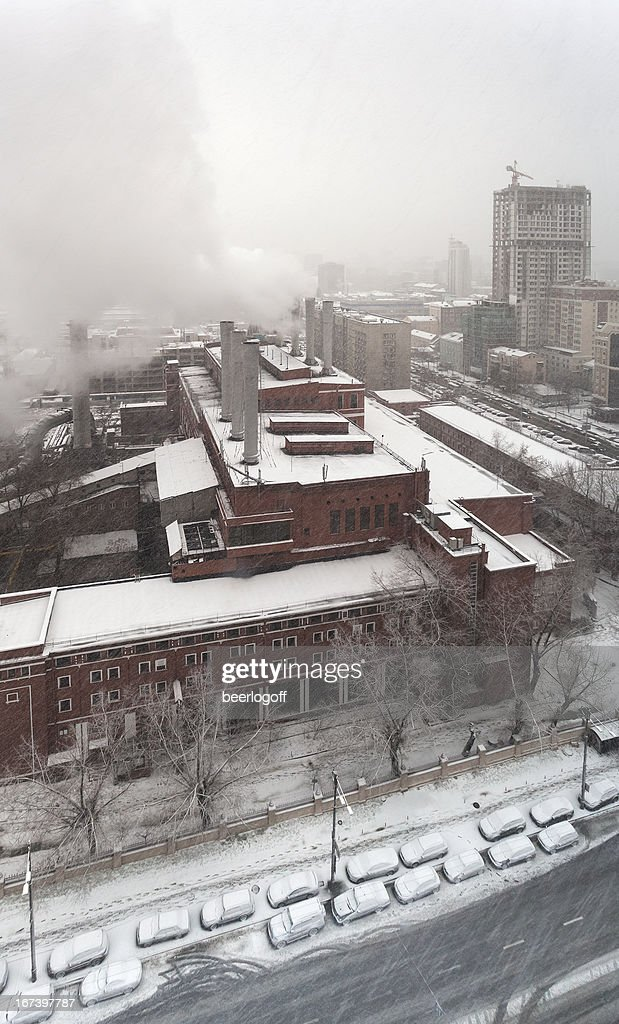 Snowy Kiev : Stockfoto