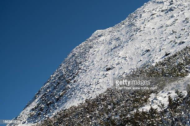 snowy peak - sursly stock pictures, royalty-free photos & images