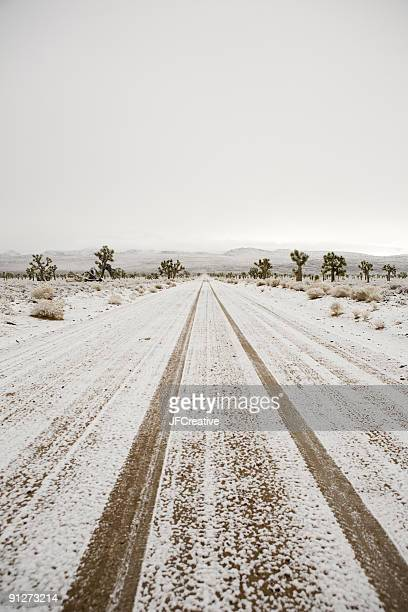 snowy road - lone pine california stock pictures, royalty-free photos & images
