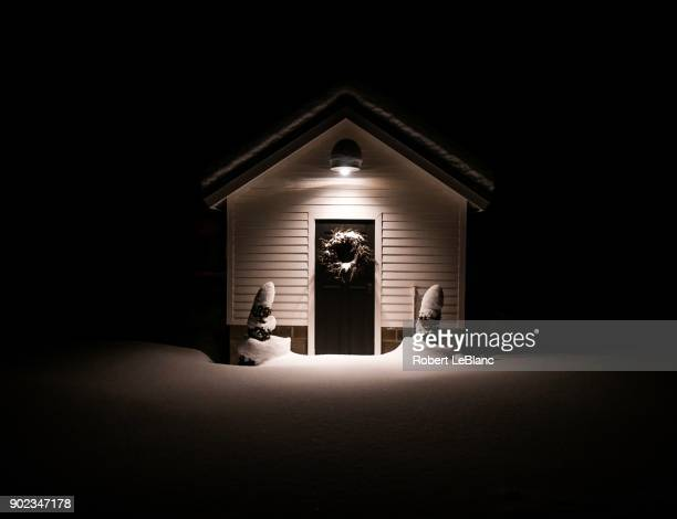Snowy Shed