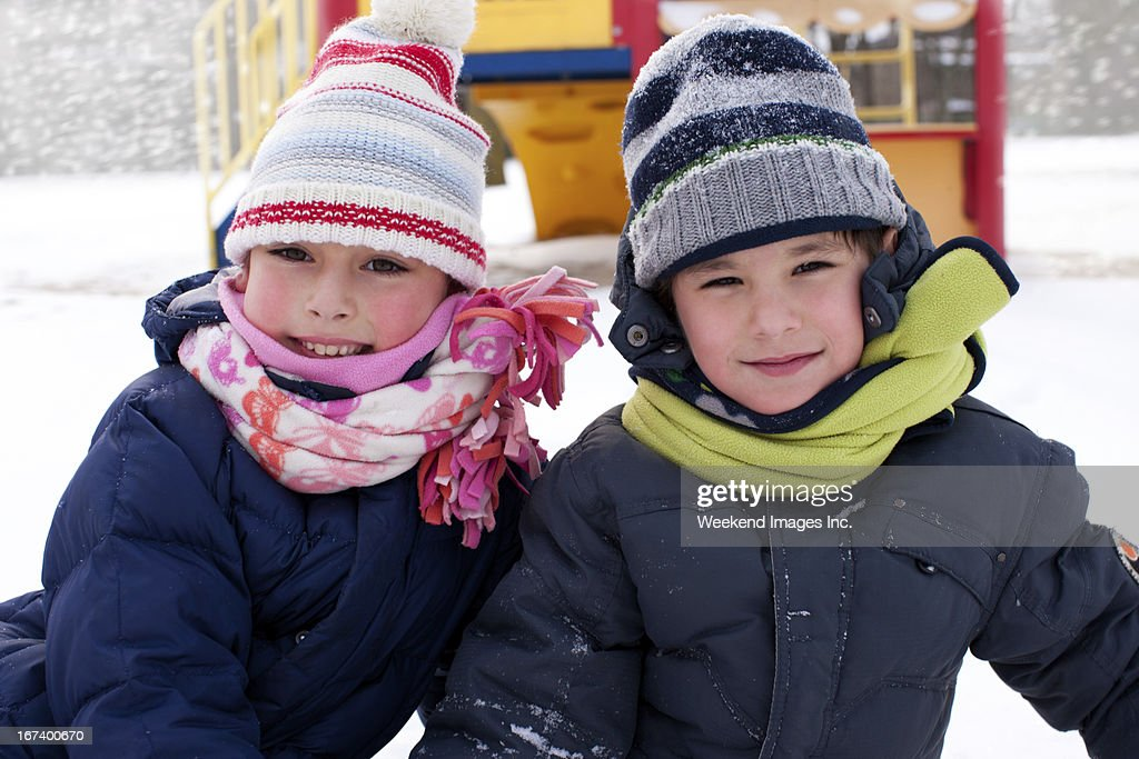 Snowy winter : Stock Photo