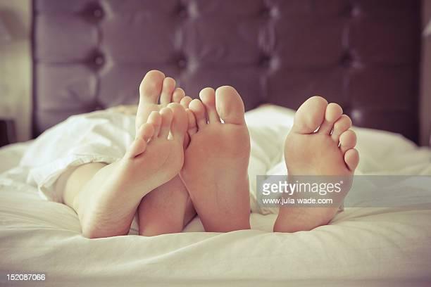 Snuggly feet