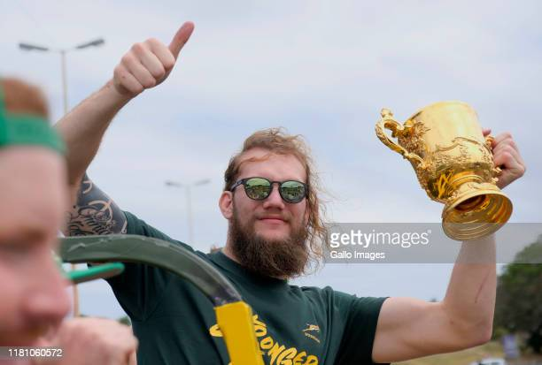 Snyman during the Rugby World Cup 2019 Champions Tour on November 09, 2019 in East London, South Africa.