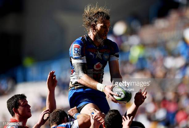 Snyman of the Vodacom Bulls during the Super Rugby match between DHL Stormers and Vodacom Bulls at DHL Newlands on April 27 2019 in Cape Town South...