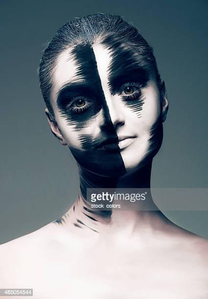 so künstlerischen look