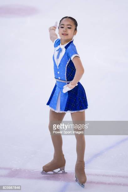 So Eun Choi of Korea competes in Advanced Novice Girls group during the Asian Open Figure Skating Trophy 2017 on August 3 2017 in Hong Kong Hong Kong