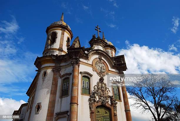são francisco de assis church, ouro preto - assis ストックフォトと画像