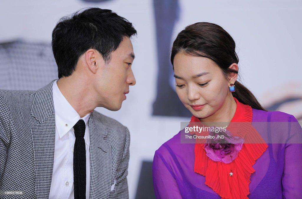 So Ji-sub and Shin Min-a attend the KBS drama 'Oh My Venus