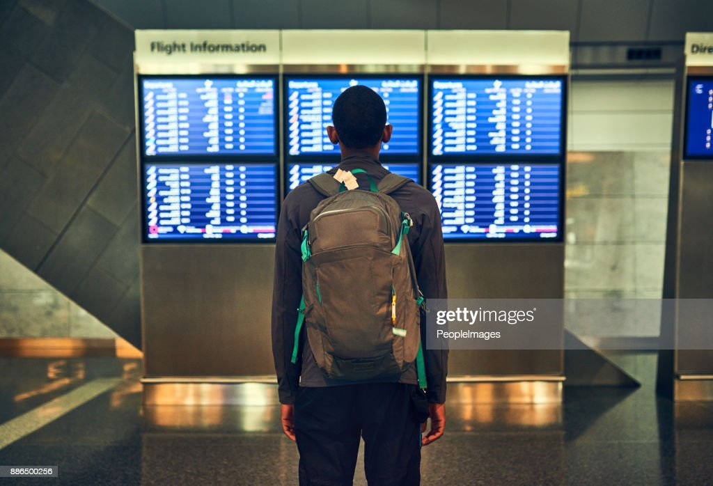 So many flights going out : Stock Photo