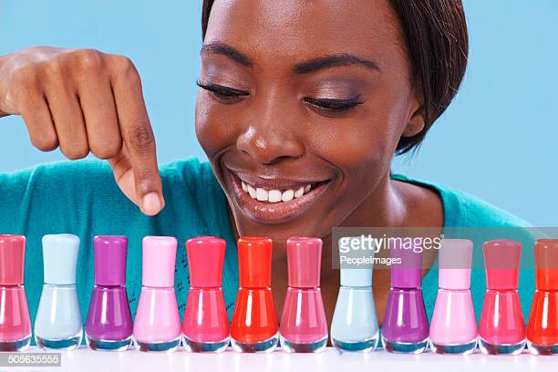 so many to choose from! - nail salon stock pictures, royalty-free photos & images