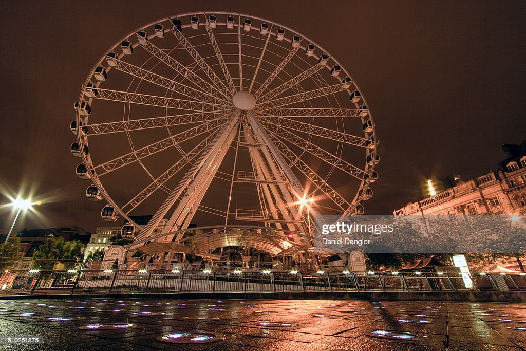 Wheel of Manchester, UK : News Photo