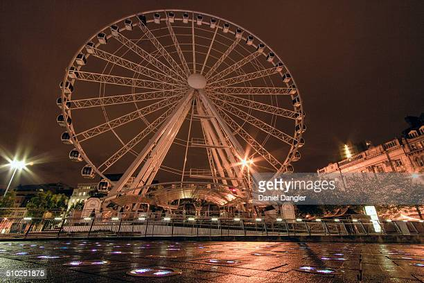 So one of the things I was most excited to shoot in Manchester The Wheel of Manchester Of COURSE it was shut down during my visit I guess the...