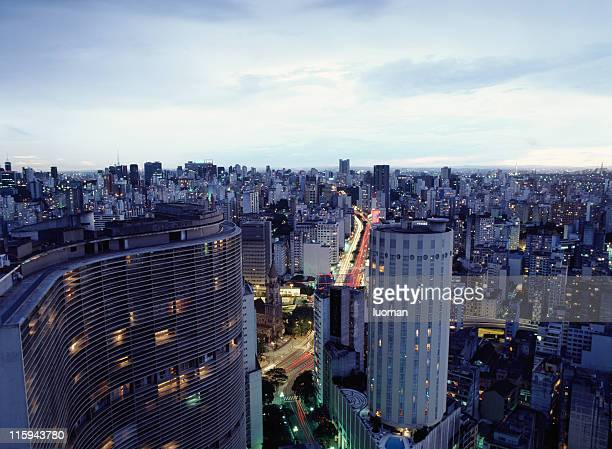 cidade de são paulo, brasil - distrito financeiro - fotografias e filmes do acervo