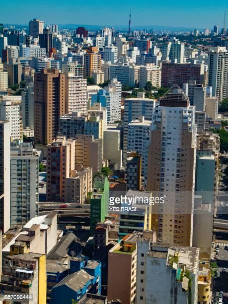 São Paulo - Panoramablick über die Innenstadt