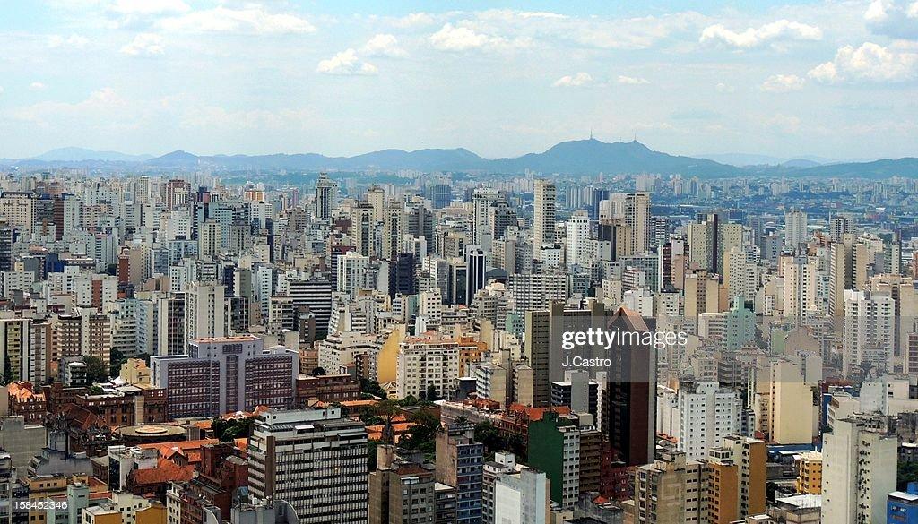 São Paulo Skyline : Stock Photo