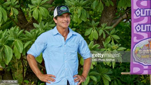 So Smart They're Dumb Jeff Probst on the twelfth episode of SURVIVOR David vs Goliath airing Wednesday Dec 5th on the CBS Television Network Image is...