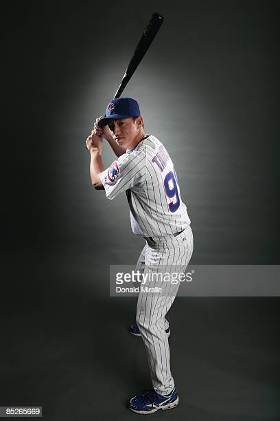 So Taguchi of the Chicago Cubs poses during photo day at the Fitch Park Spring Training complex on February 23 2009 in Mesa Arizona