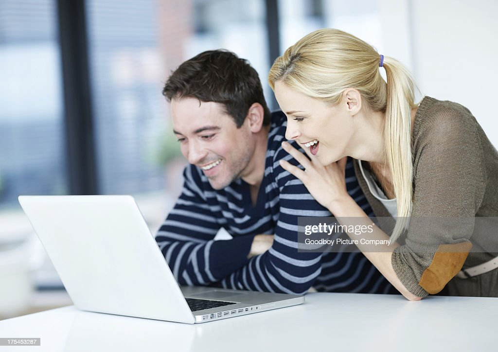 So this is what everyone's been laughing about : Stock Photo