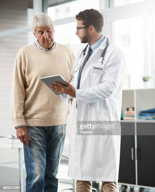 so this link will bring up all your medical history - male doctor stock photos and pictures