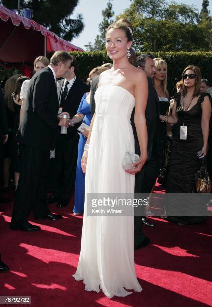 So You Think You Can Dance host Cat Deeley arrives at the 59th Annual Primetime Emmy Awards at the Shrine Auditorium on September 16 2007 in Los...