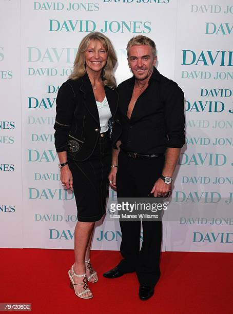 So You Think You Can Dance judges Bonnie Lythgoe and Jason Coleman arrive at the David Jones Winter 2008 Collection Launch A Japanese Story at the...