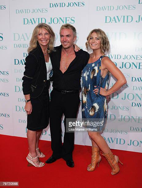 So You Think You Can Dance judges Bonnie Lythgoe Jason Coleman and Natalie Bassingthwaighte arrive at the David Jones Winter 2008 Collection Launch A...