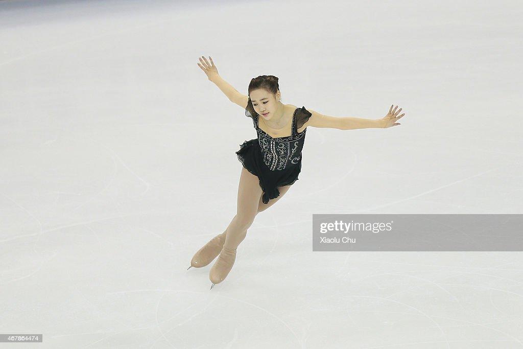 2015 Shanghai World Figure Skating Championships - Day 4