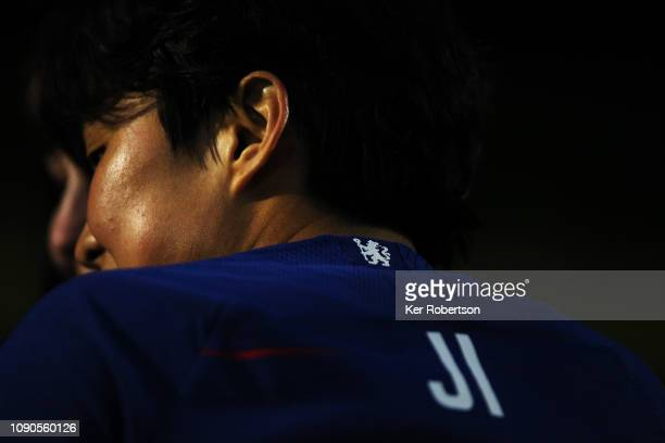 So Yun Ji of Chelsea Women seen during the FA Women's Super League match between Chelsea Women and Everton Ladies at The Cherry Red Records Stadium...